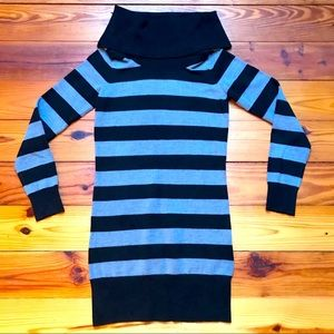 French Connection Striped Sweater Dress, EUC, S